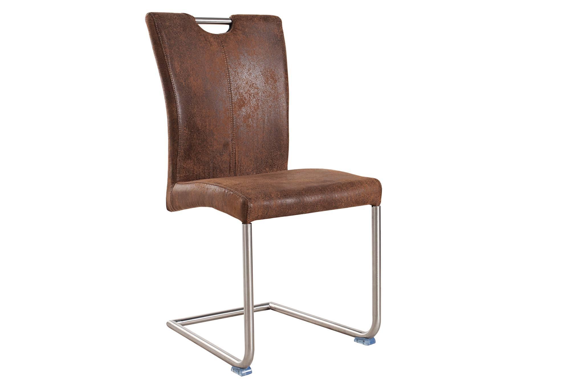 Jedálenská stolička Goethe vintage hnedá