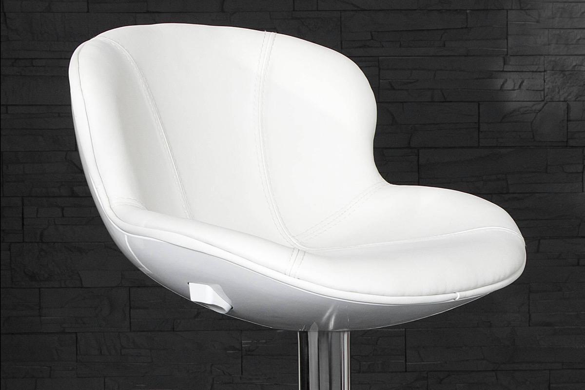 Barová stolička Fastchair biela