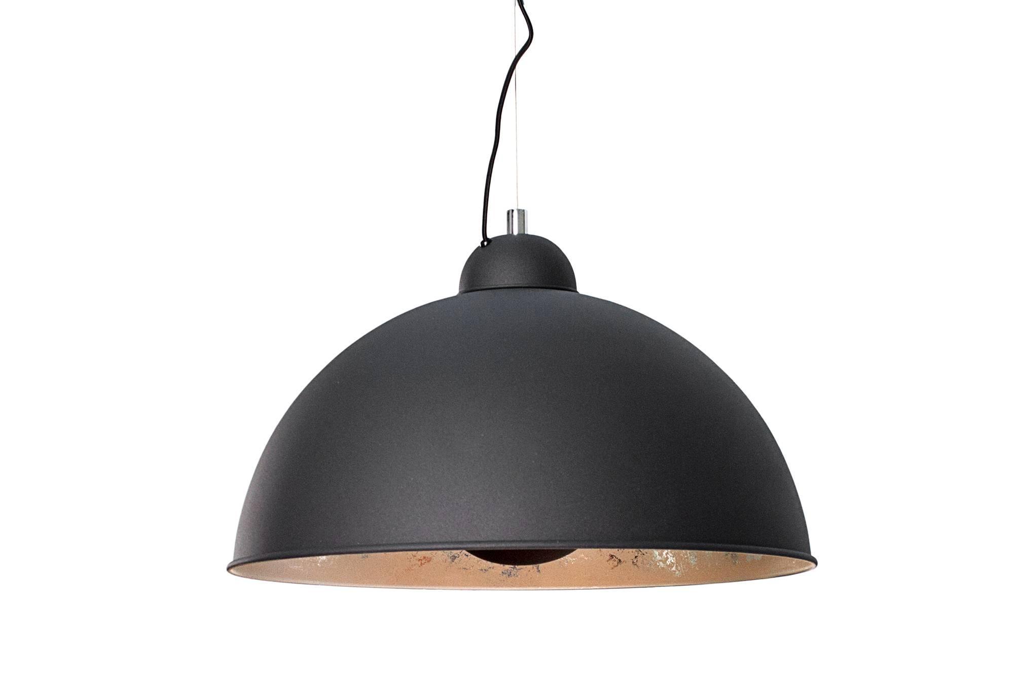 Lampa Atelier čierno-strieborná