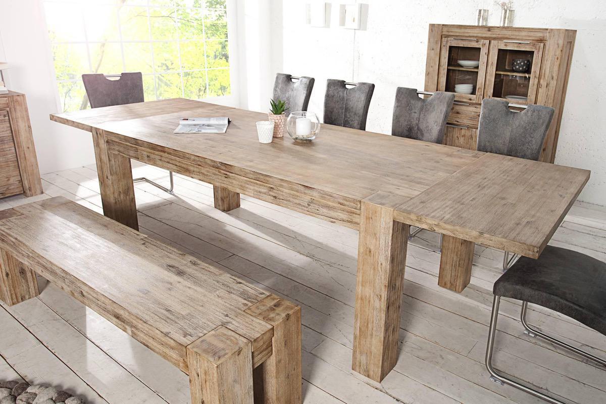 Stôl Jumbo rozkladací 200-300cm Agát masív