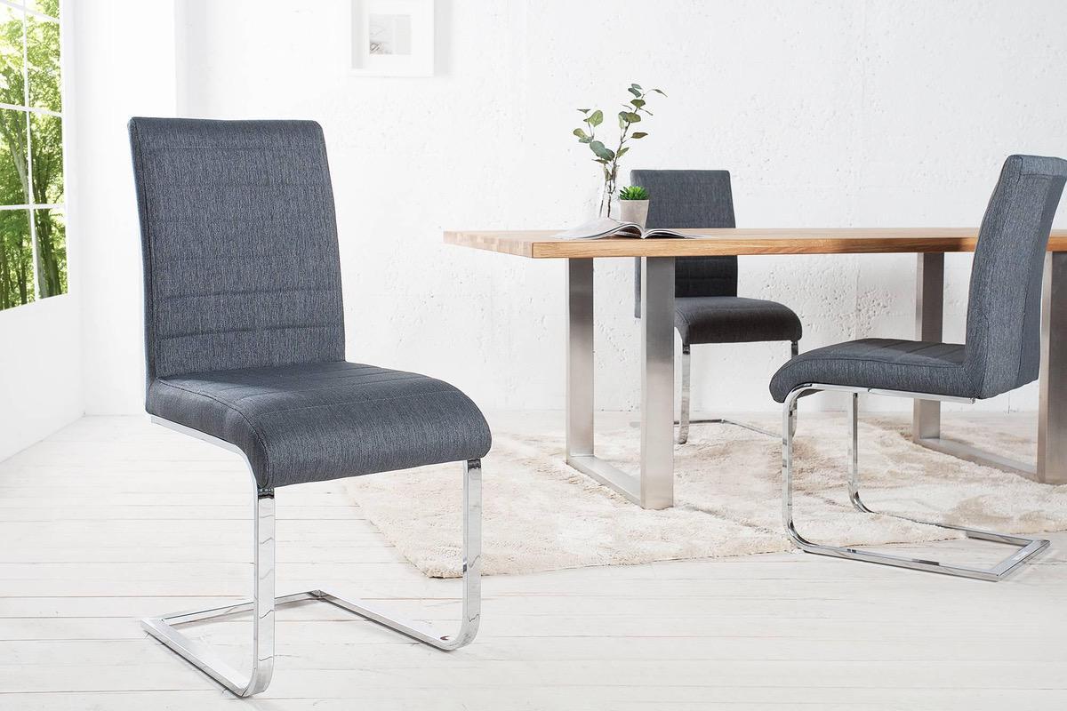 Stolička Gilbert sivá II