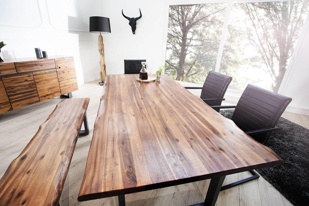 Jedálenský stôl Evolution 200cm Antracit