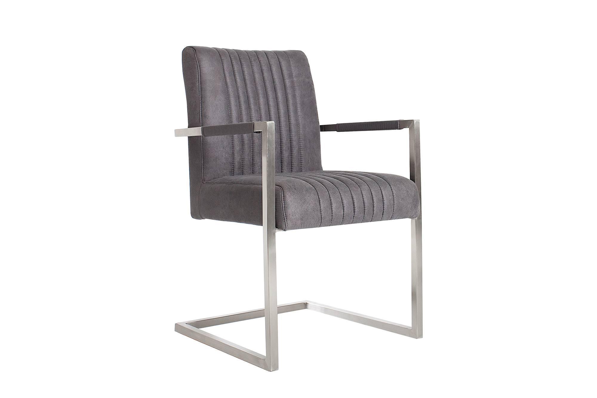 Stolička Boss Vintage sivá
