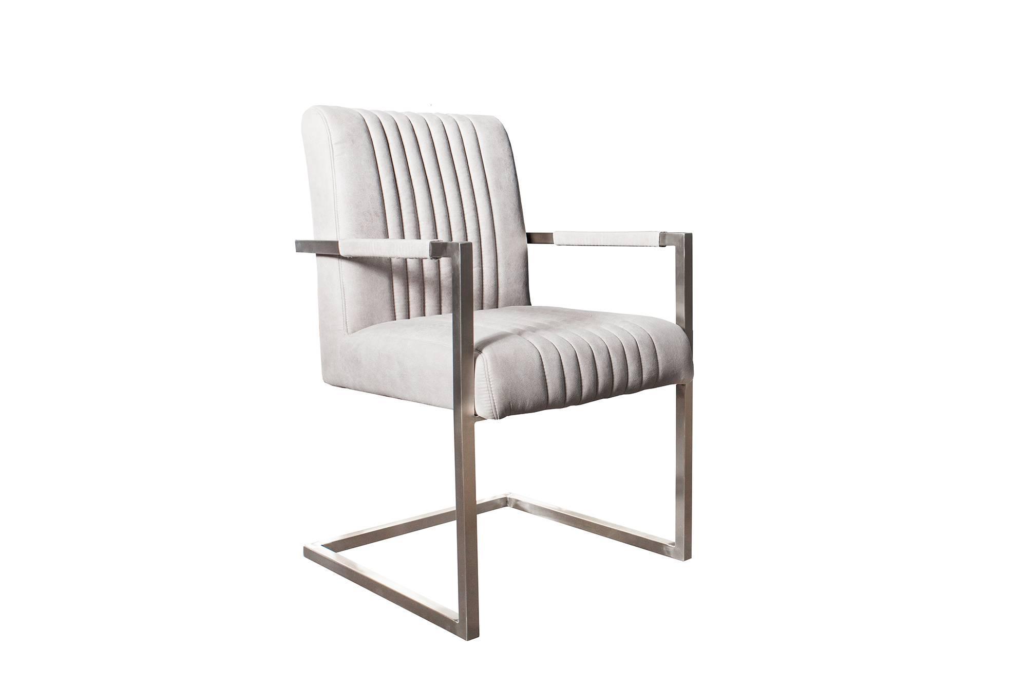 Stolička Boss svetlo sivá