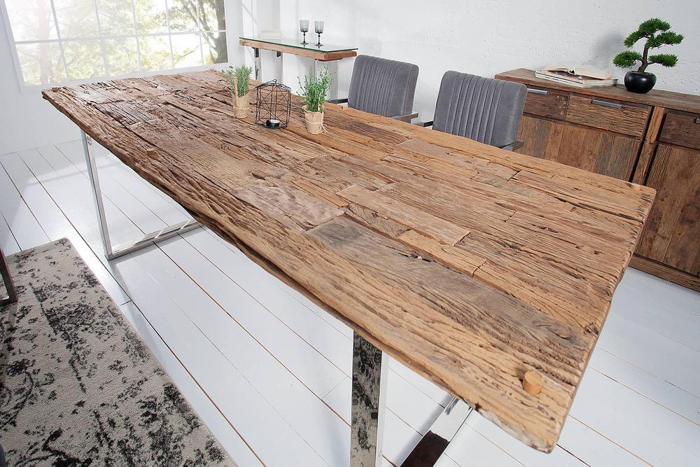 Luxusný jedálenský stôl z masívu Shark 240cm