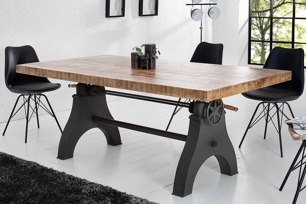 336df95312f4 Jedálenské stoly  Luxusný masívny jedálenský stôl Celine 200cm
