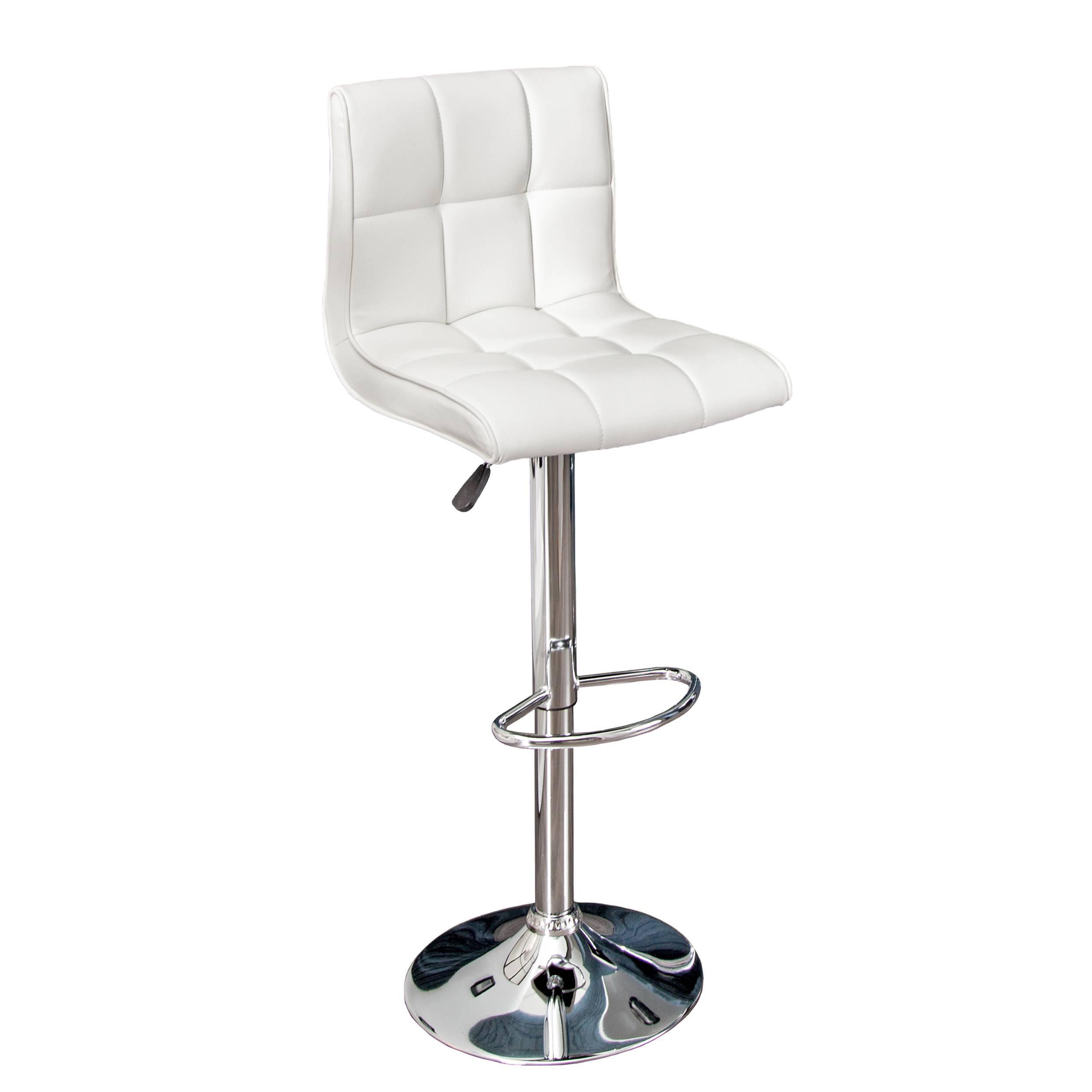 Dizajnová barová stolička Modern White