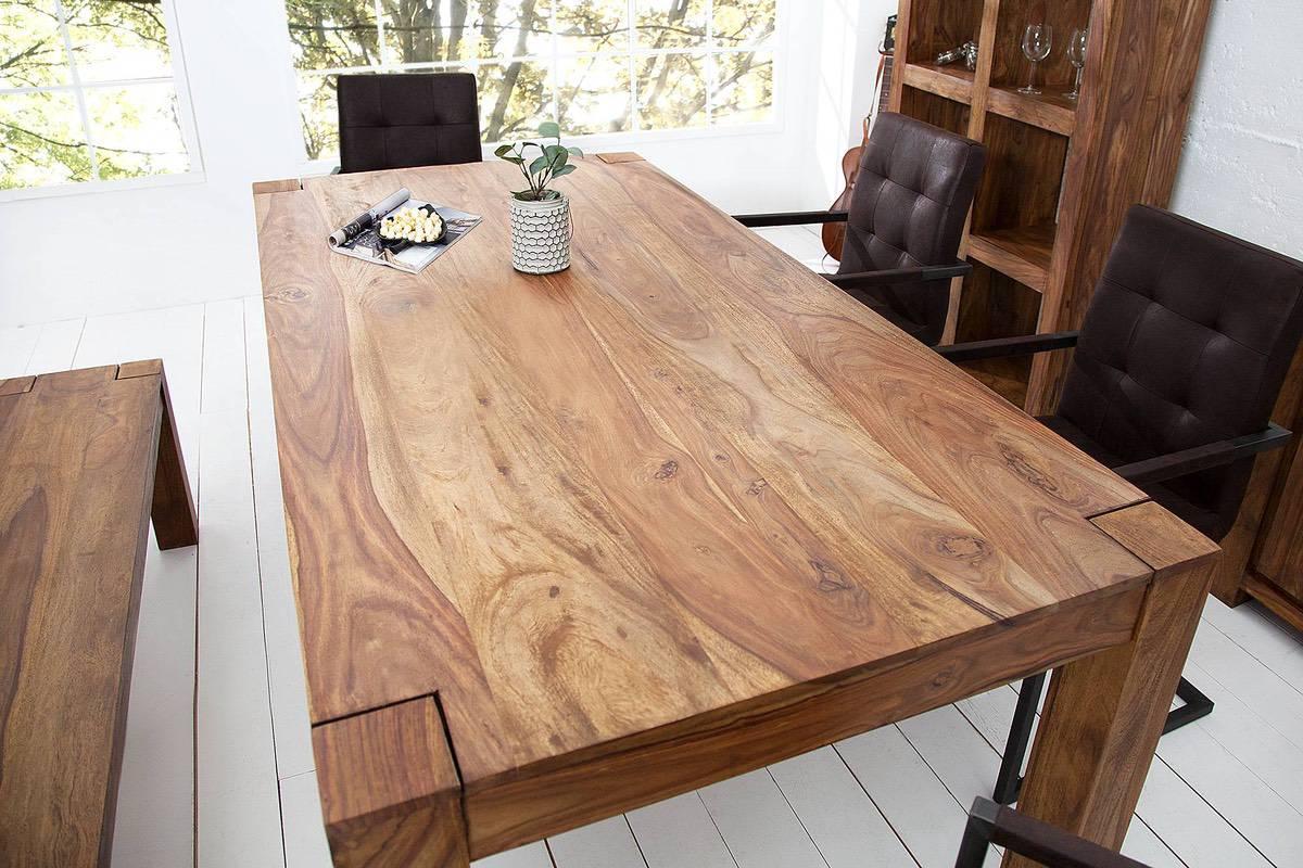 LuxD Jedálenský stôl z masívu Timber 200cm