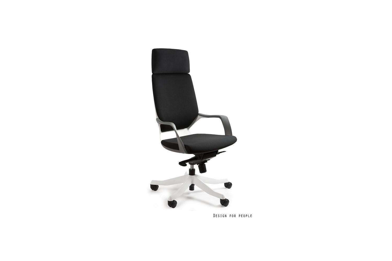 Kancelárska stolička Amanda biela/čierna