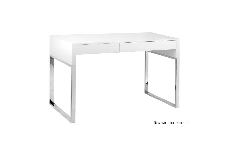 c9ccb5defd96 Dizajnový písací stôl Brett biely