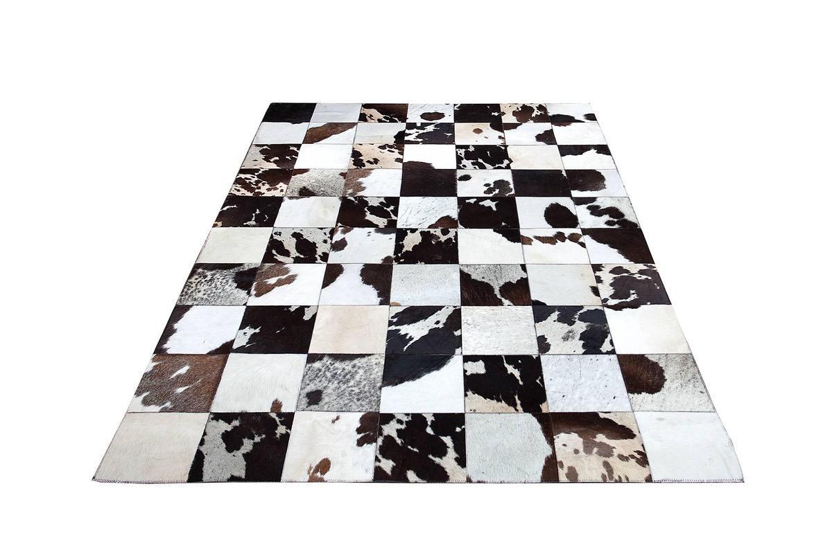 Dizajnový koberec Ralph 195 cm hnedá/biela