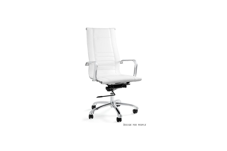 Kancelárska stolička Astoria biela