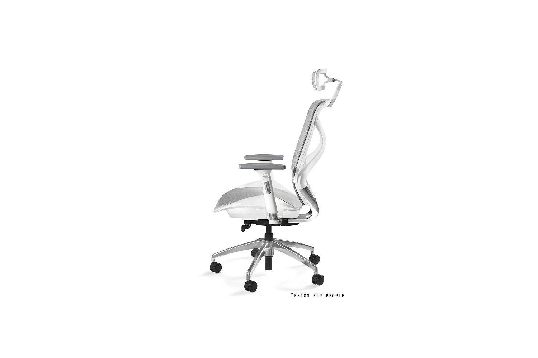 Kancelárska stolička Harry sieťovina / biela