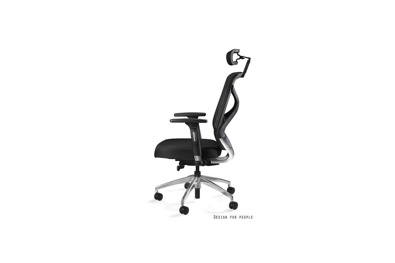Kancelárska stolička Harry tkanina / čierna