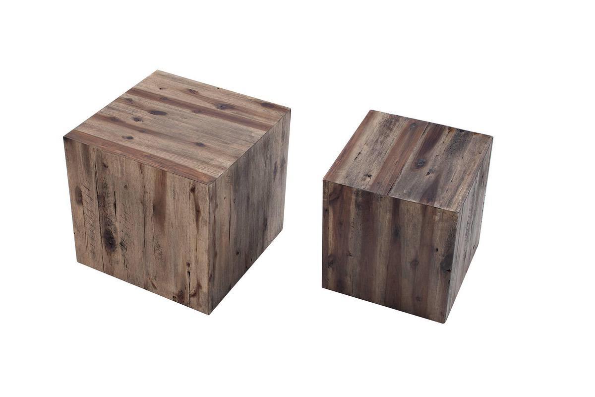Set 2 odkladacích stolíkov Cara