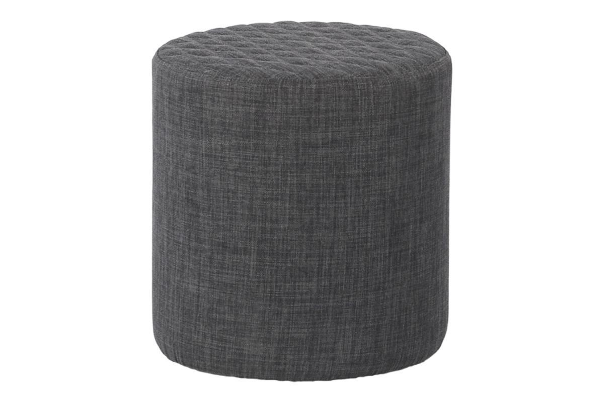Dizajnová taburetka Kiera, sivá