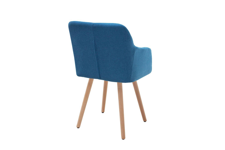 Dizajnová stolička Norway tmavo modrá
