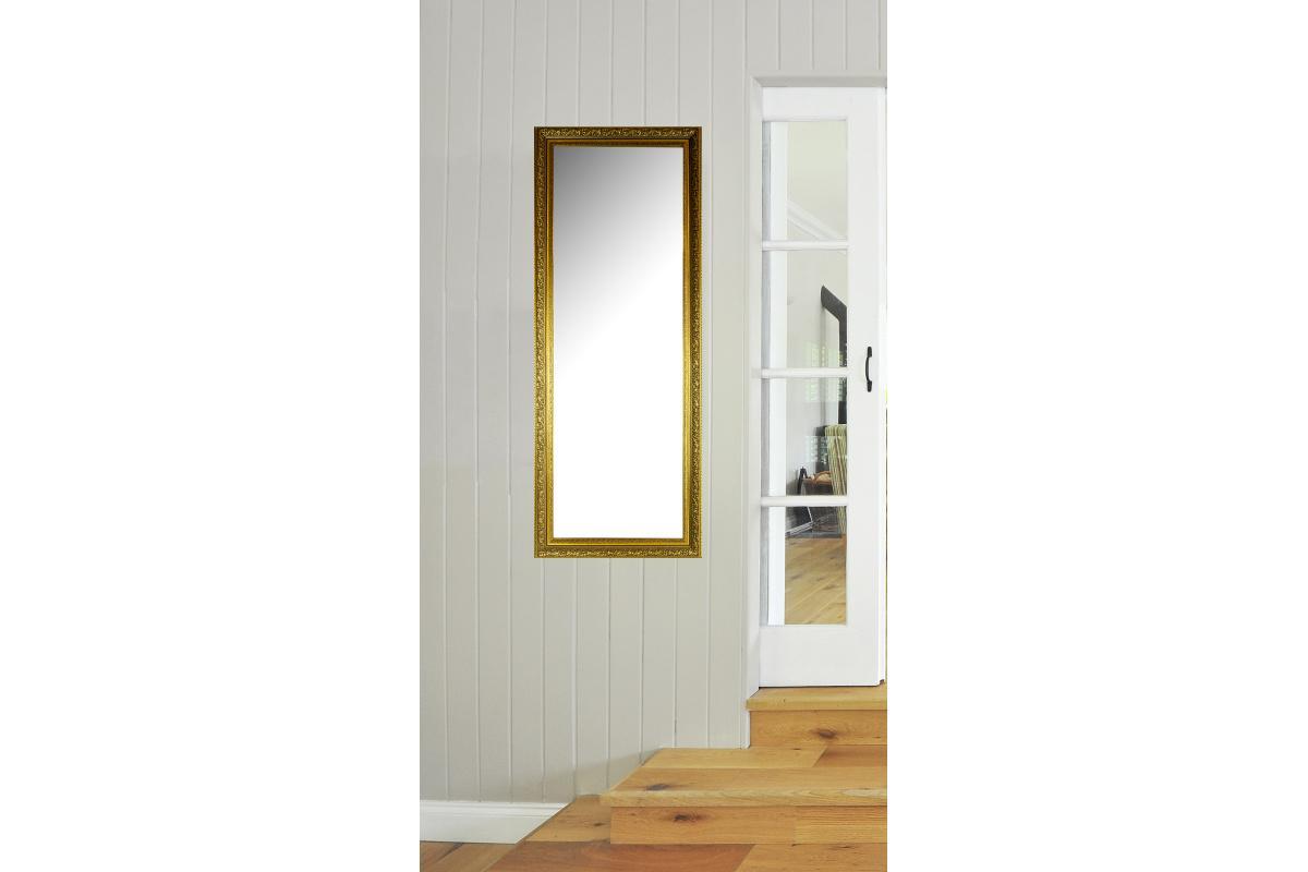 Nástenné zrkadlo Enrique, zlatá patina