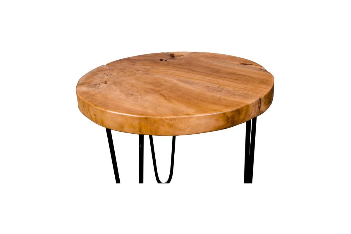 Dizajnový konferenčný stolík Julius, teak