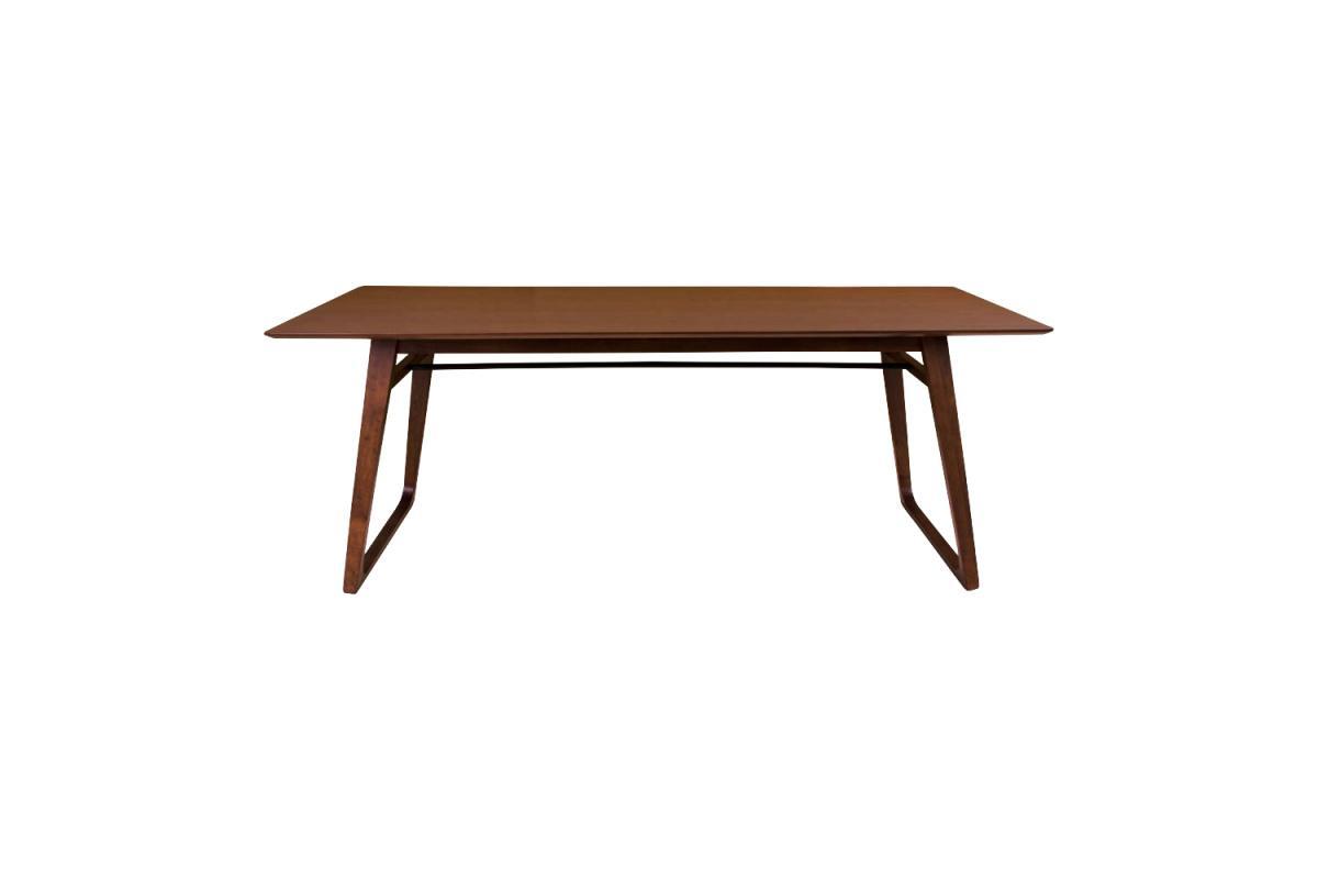 Dizajnový jedálenský stôl Miriam 200, orech