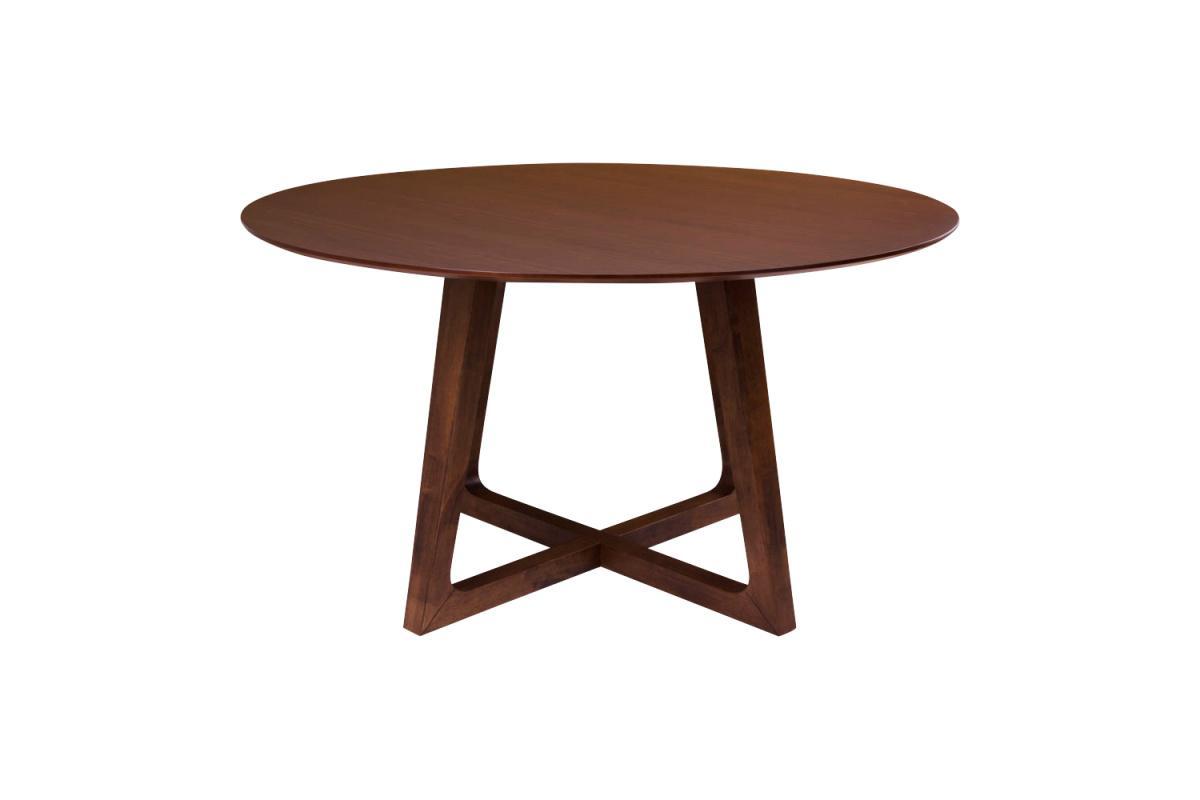Okrúhly jedálenský stôl Miriam, orech