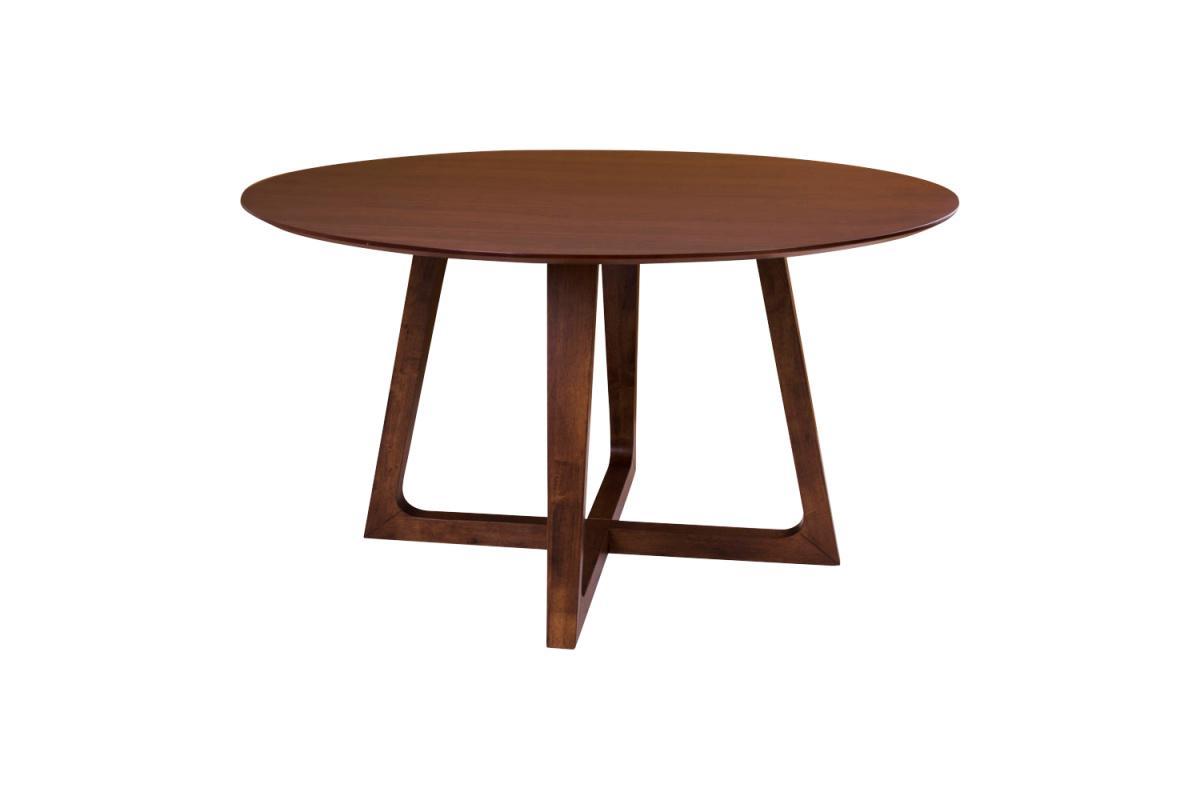 Norddan Okrúhly jedálenský stôl Miriam, orech