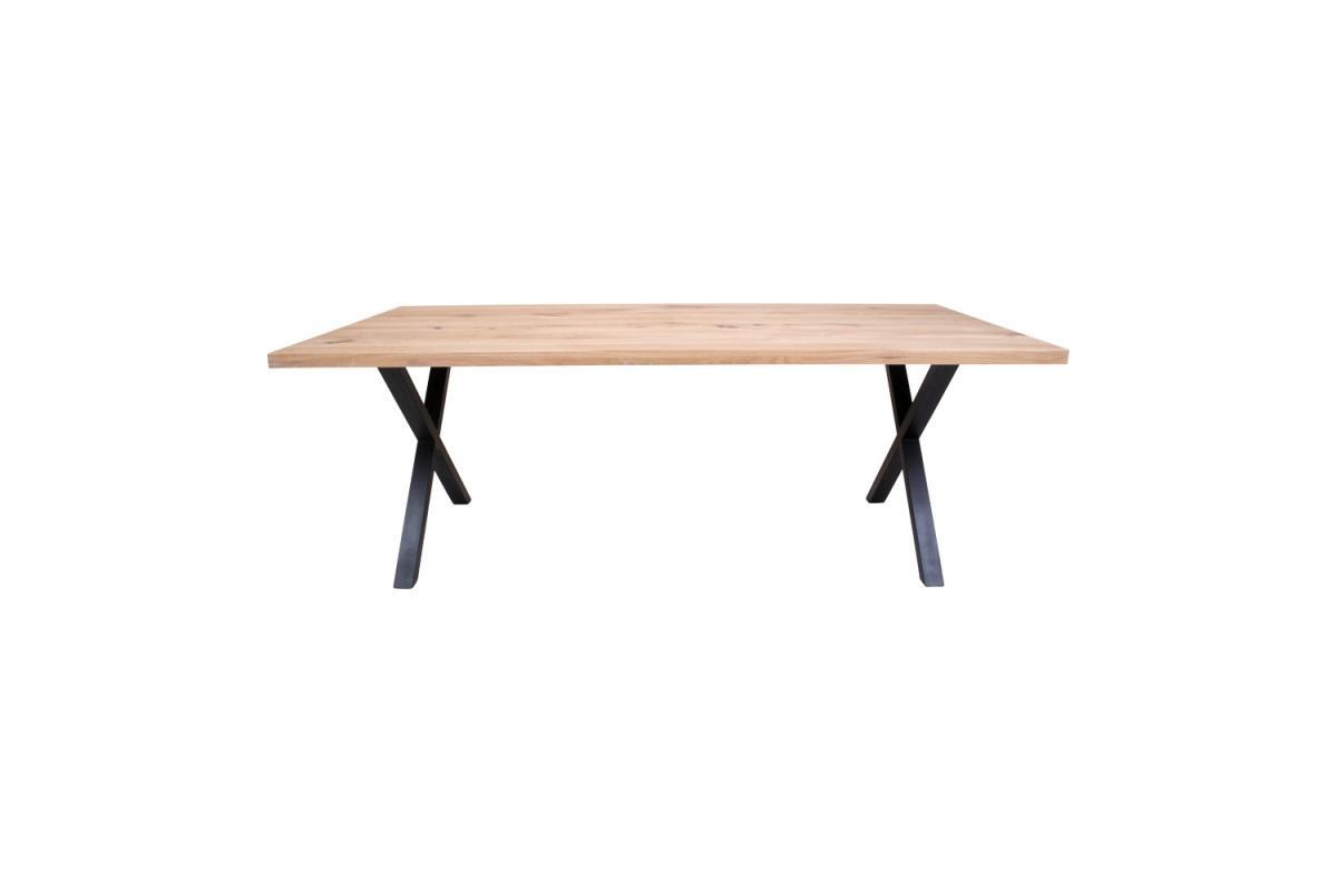 Dizajnový jedálenský stôl Finnegan, biely dub