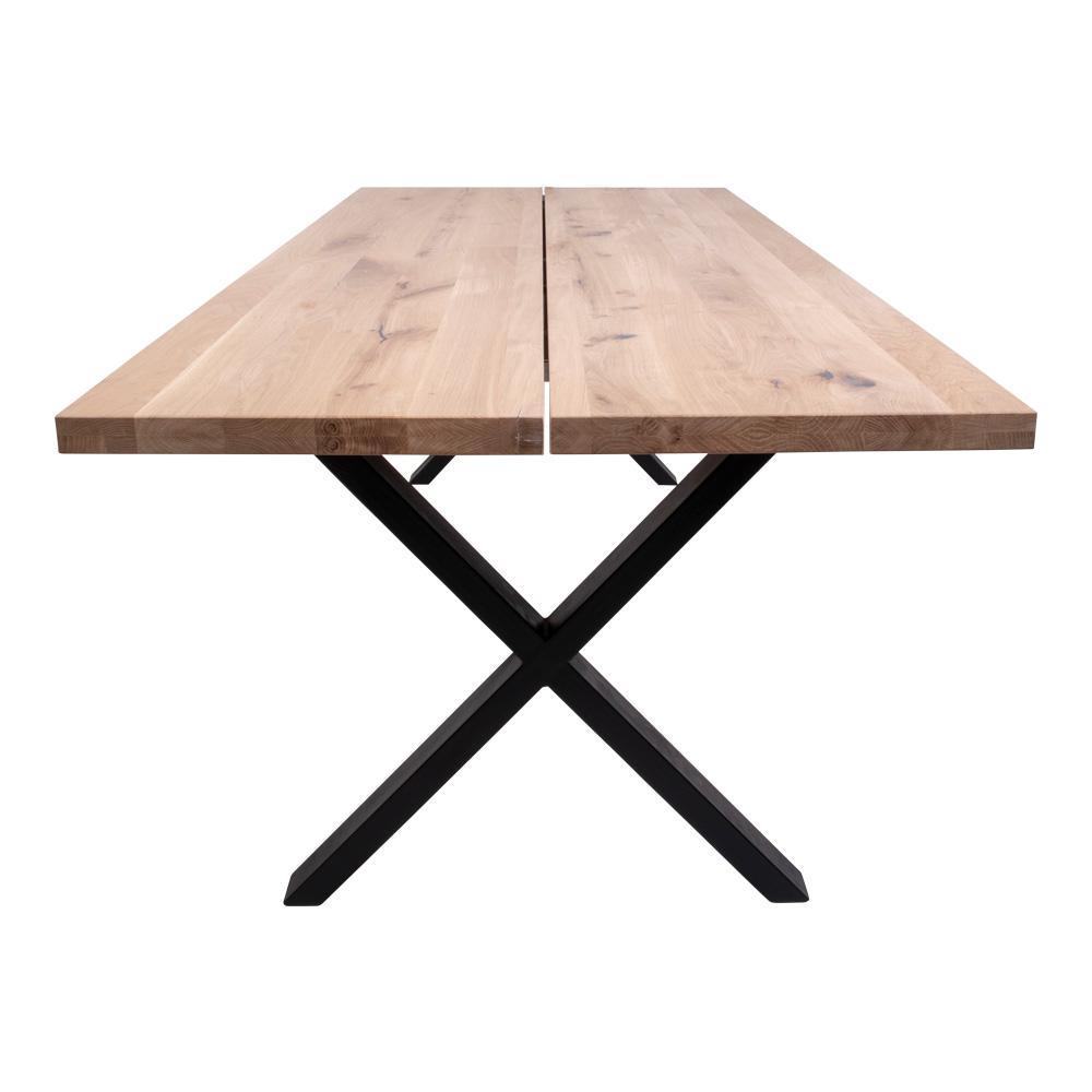 Dizajnový jedálenský stôl Bengta biely dub