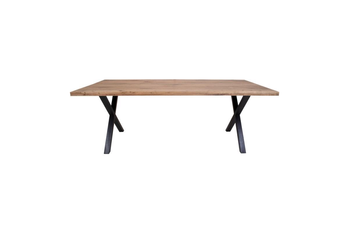 Dizajnový jedálenský stôl Finnegan, tmavý dub