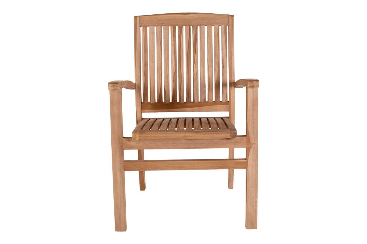 Záhradná stolička Priscilla, teak
