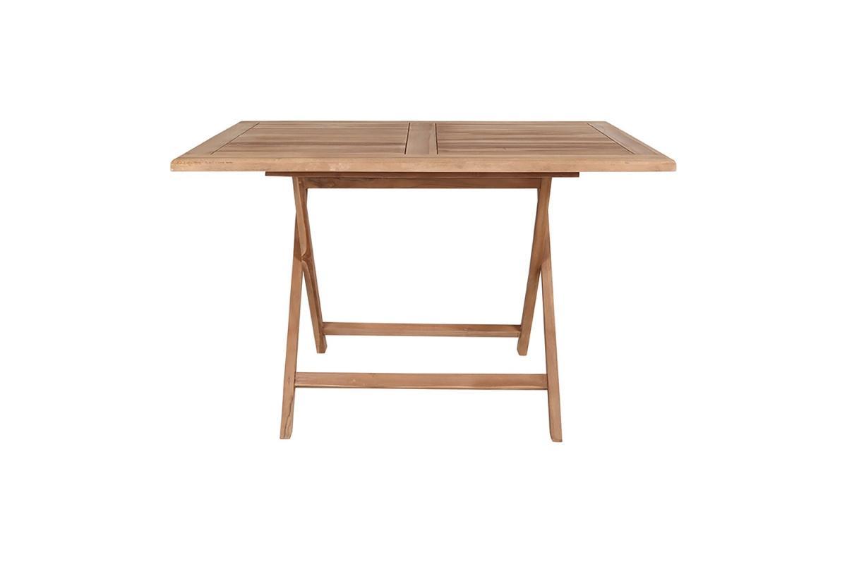 Záhradný stôl Mekhi, teak
