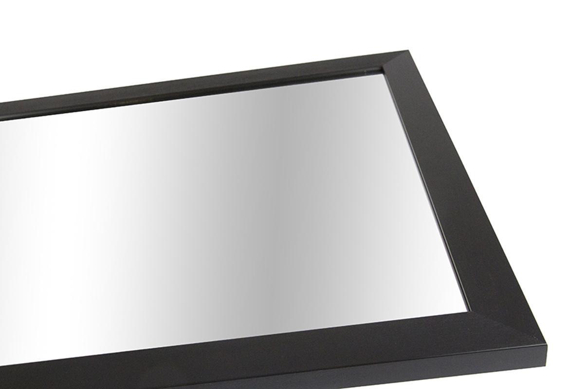 Nástenné zrkadlo Kailey, čierne