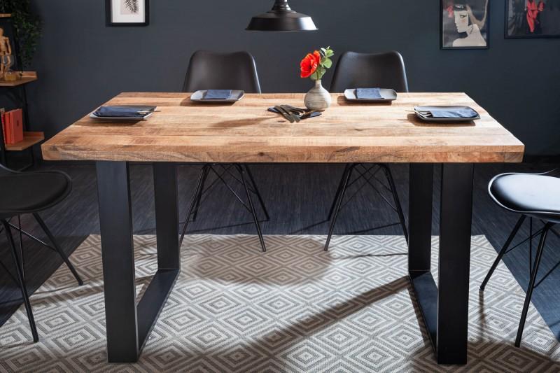 LuxD Dizajnový jedálenský stôl Thunder 120 cm mango