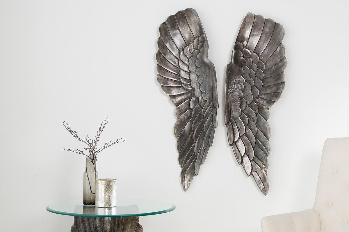 LuxD Nástenná dekorácia Angel 65 cm