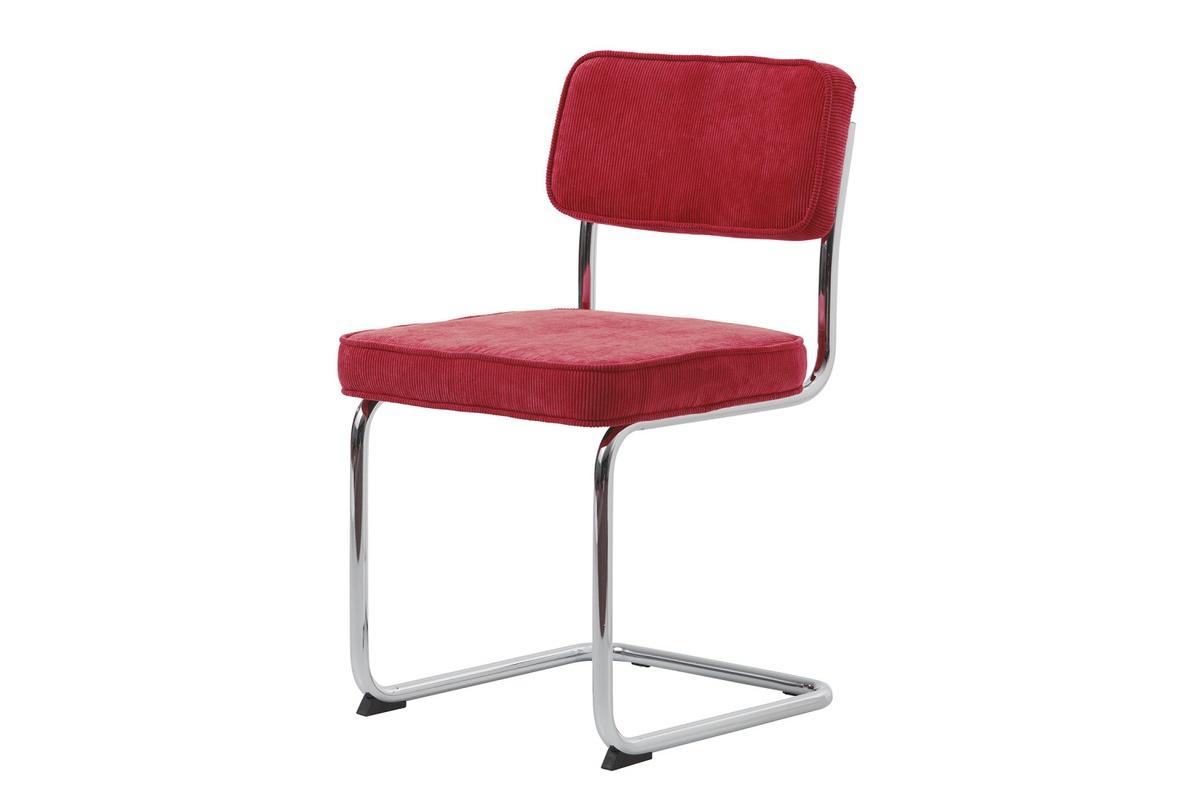 Furniria 24011 Dizajnová konzolová stolička Denise červená