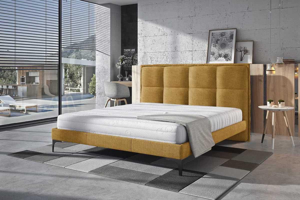 Confy Dizajnová posteľ Adelynn 180 x 200 - 6 farebných prevedení