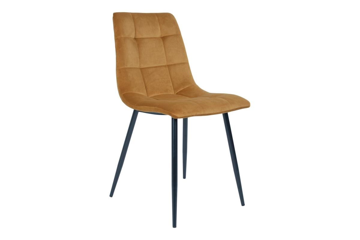 Norddan 21850 Dizajnová stolička Dominik horčicová