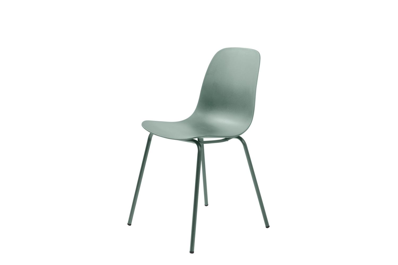 Furniria 24077 Dizajnová stolička Jensen matná zelená