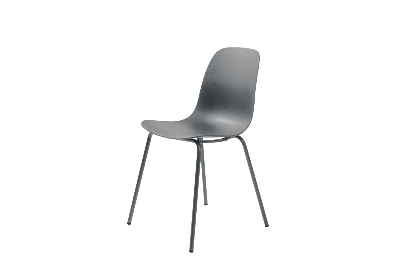 Furniria 24074 Dizajnová stolička Jensen sivá