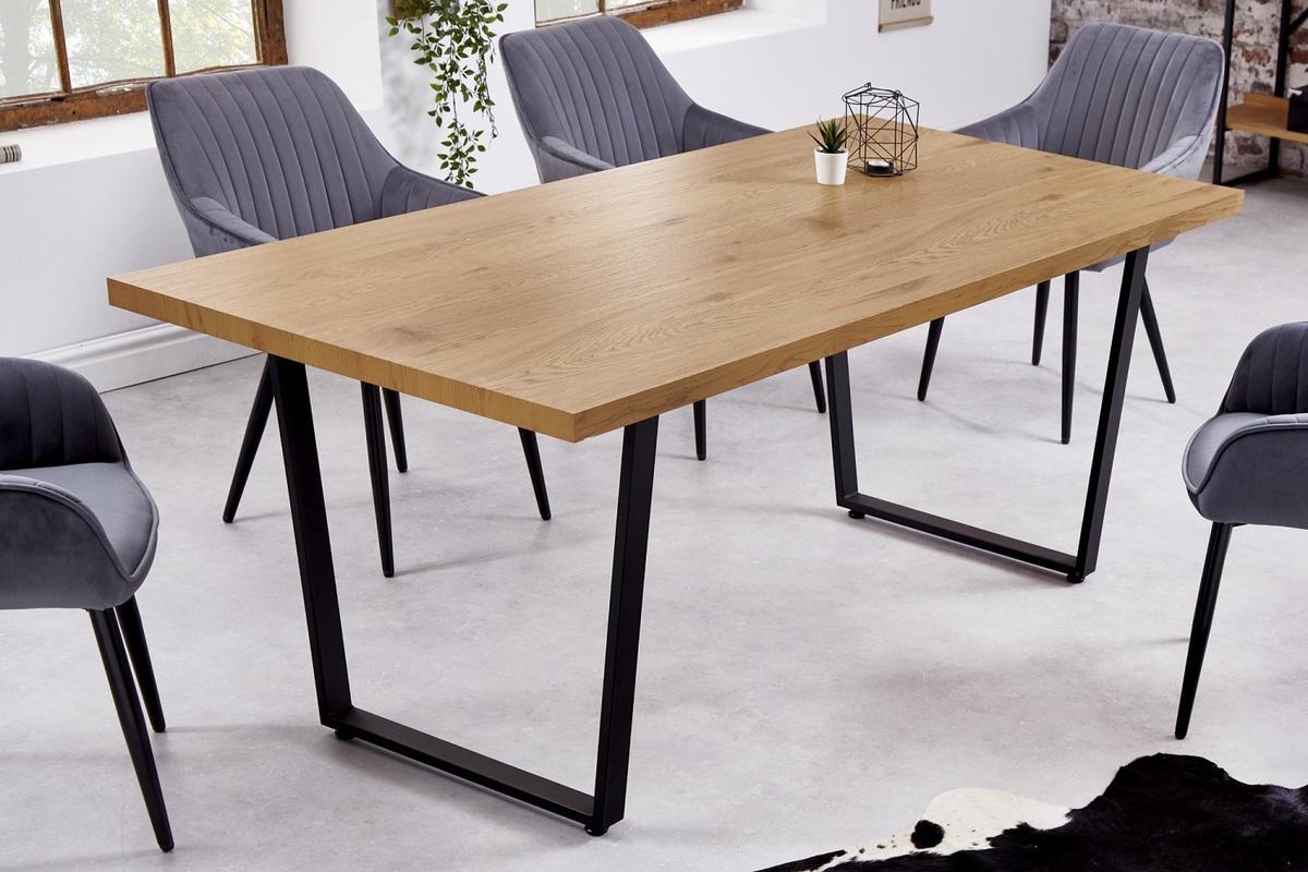 LuxD Dizajnový jedálenský stôl Giuliana 180 cm dub