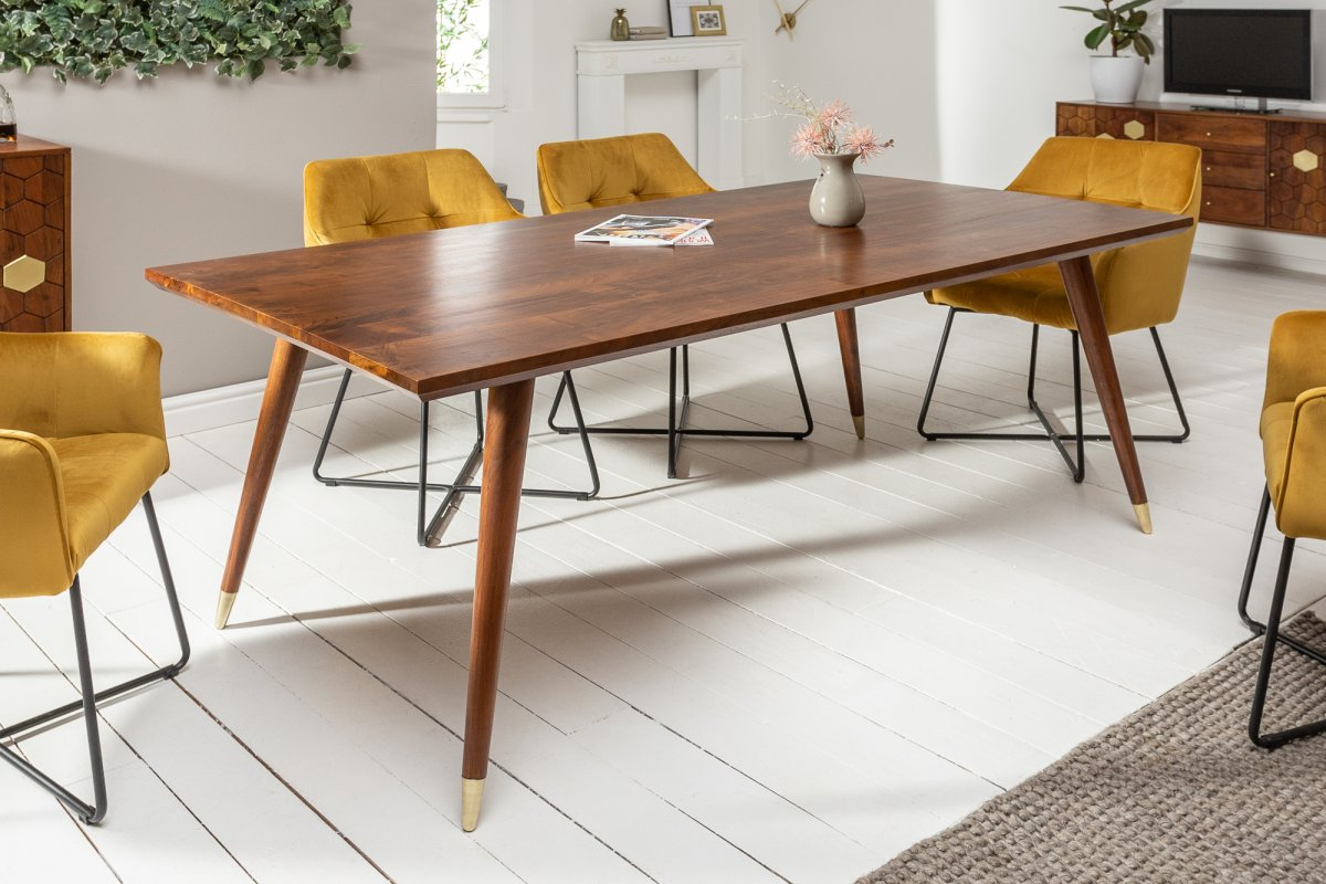 LuxD Dizajnový jedálenský stôl Justice 160 cm akácia