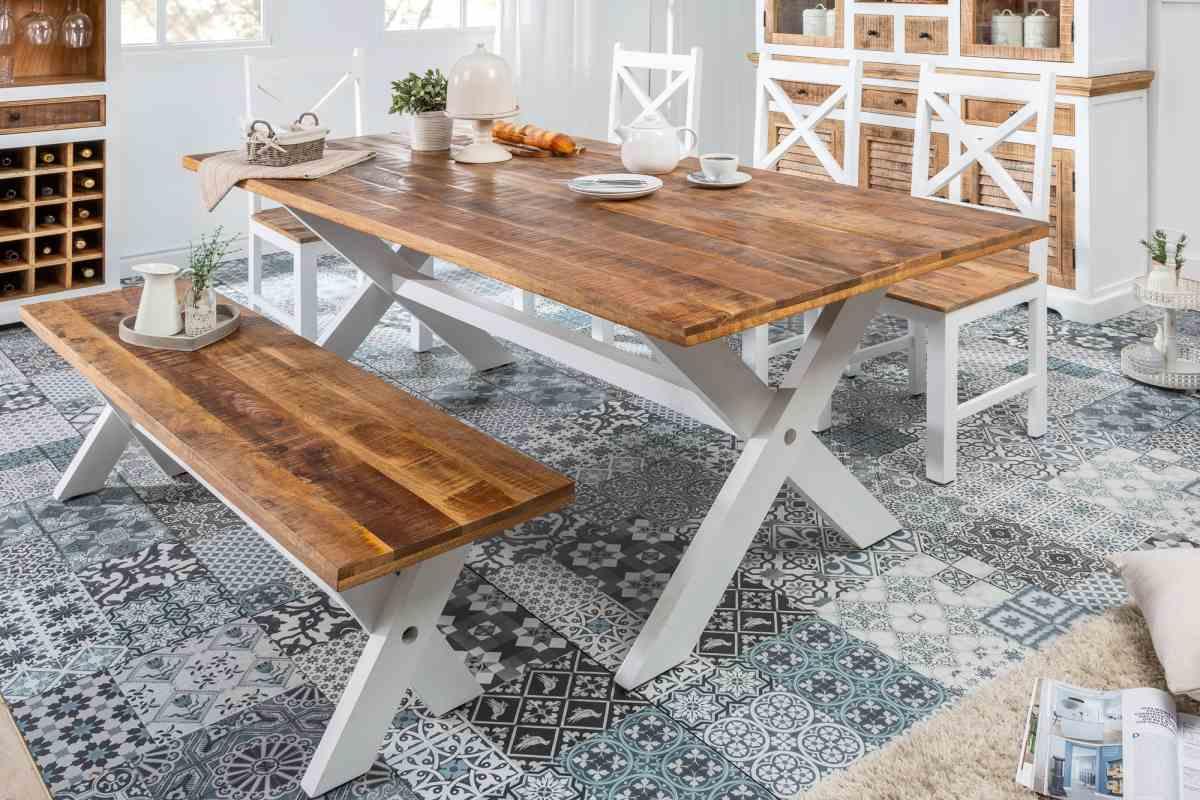 LuxD Dizajnový jedálenský stôl Rodney 200cm mango