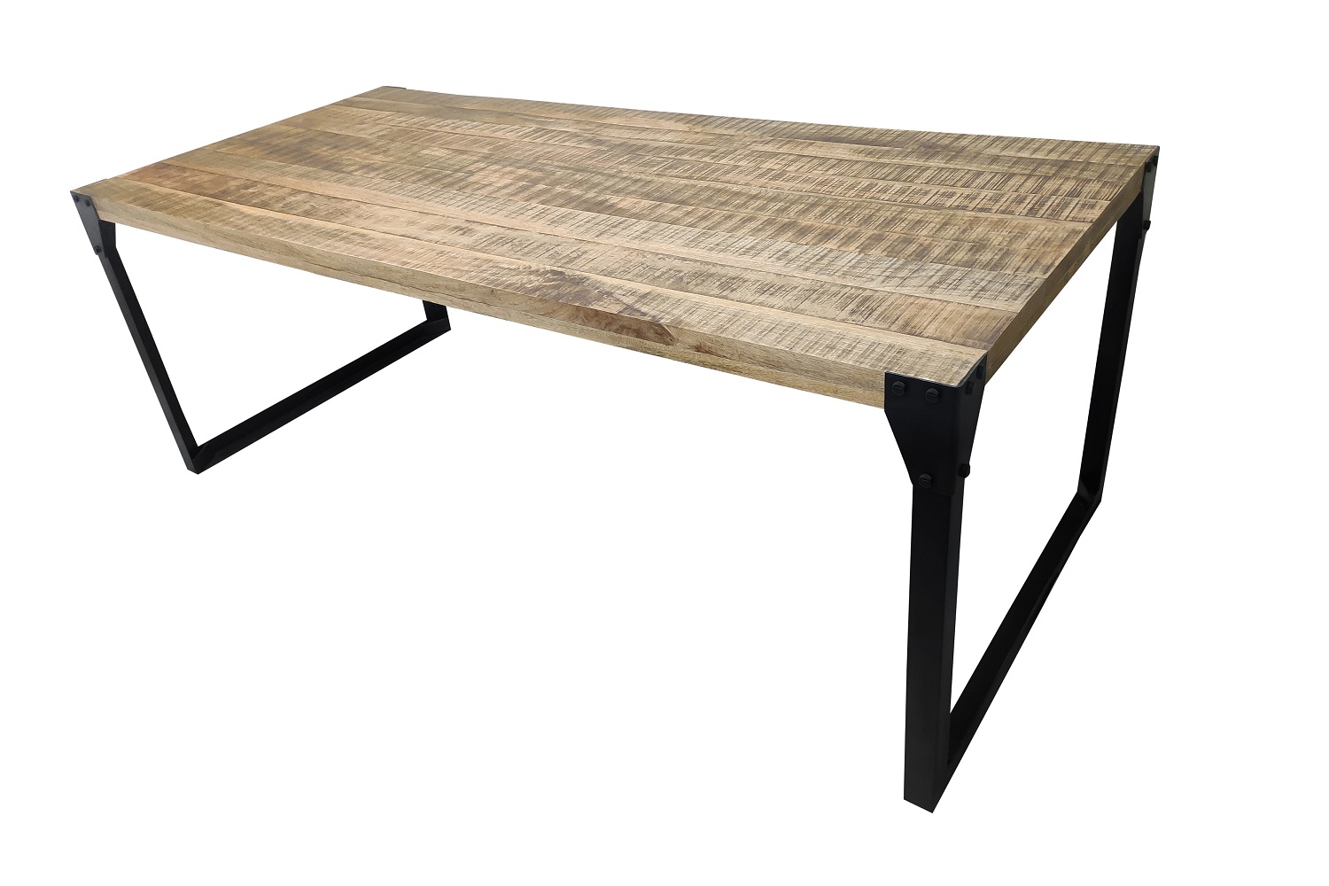 LuxD Dizajnový jedálenský stôl Unity 160 cm mango