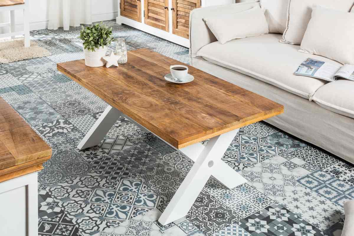 LuxD Dizajnový konferenčný stolík Rodney 110cm mango