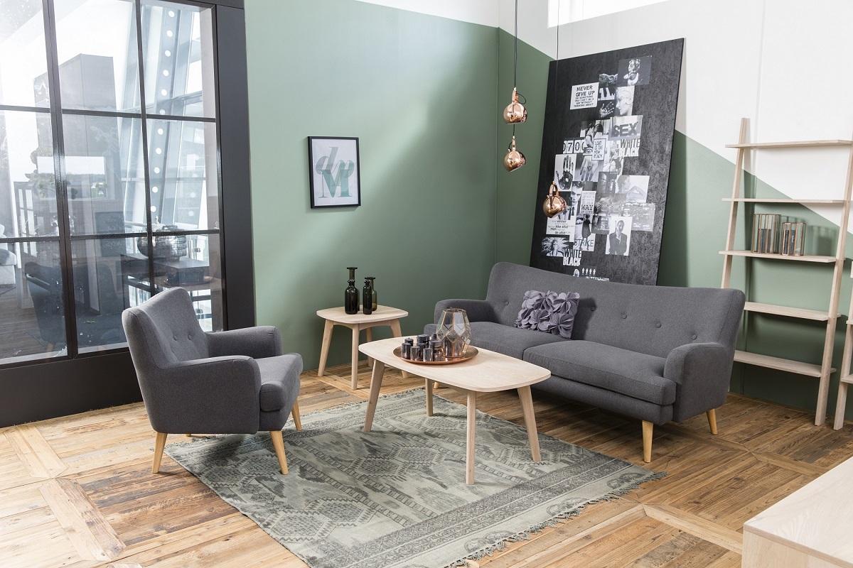 Dkton Dizajnový odkladací stolík Abraxas, 58 cm