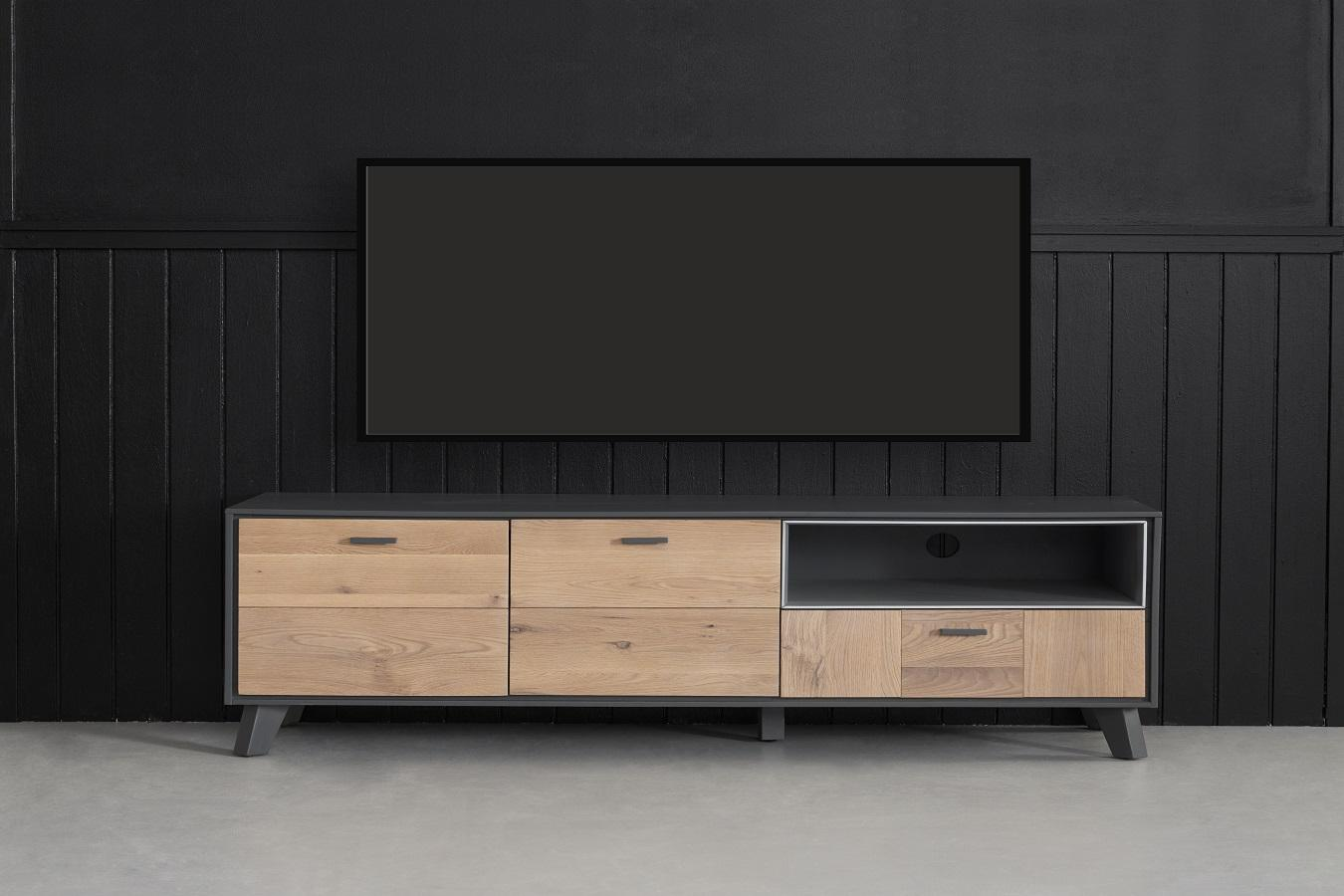 Furnistore Dizajnový TV stolík Aakil, 155 cm