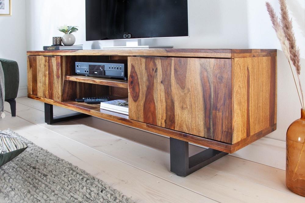 LuxD Dizajnový TV stolík Falco II 160 cm Sheesham