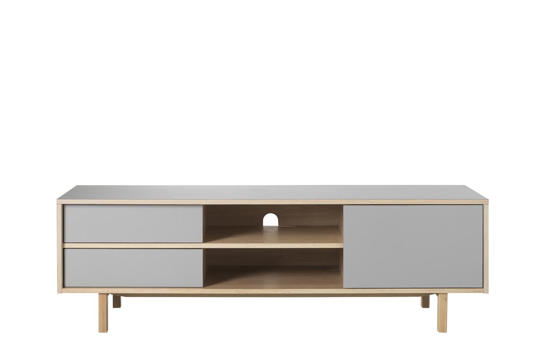 Furniria Dizajnový TV stolík Jaxen 156 cm