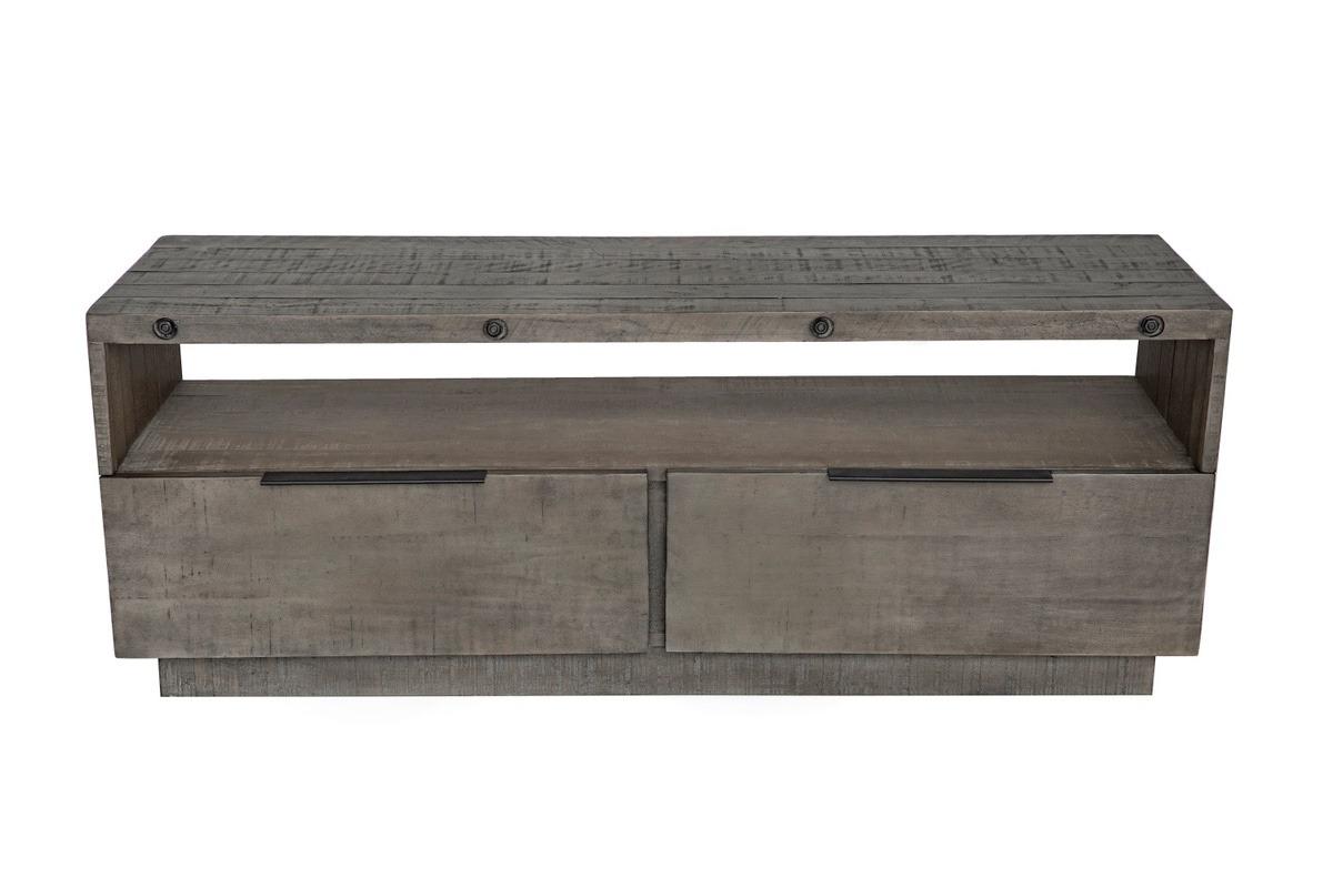 LuxD Dizajnový TV stolík Harlow 150 cm sivý - borovica