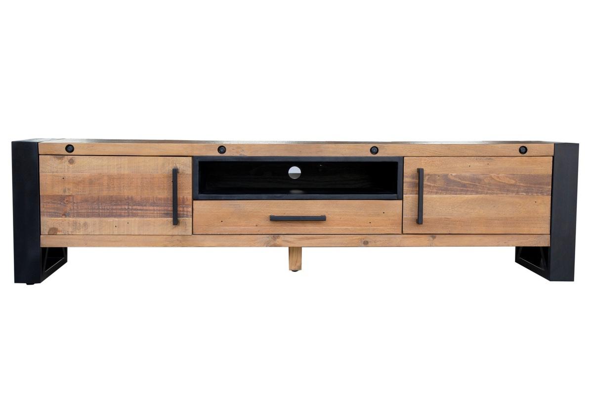 LuxD Dizajnový TV stolík Thunder 200 cm borovica